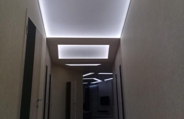 Световые потолки фото примеры