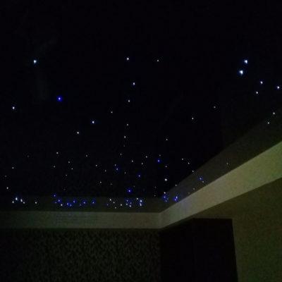 Натяжные потолки Звездное небо - фото примеры